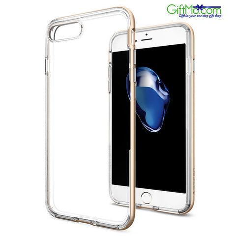 Stylish Apple iPhone 7 Plus Slim Crystal Clear Bumper Case