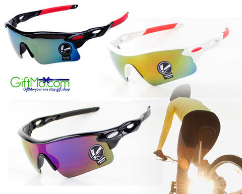 Stylish Cycling Sunglasses UV400 Lens - GiftMo