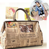 Stylish Hobo Fashion Tote Messenger Leather Handbag