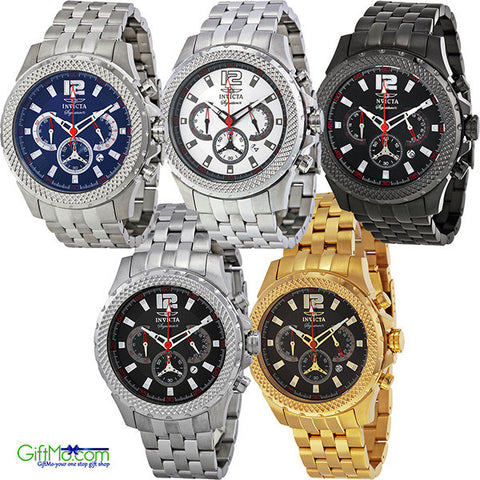 Stylish Invicta Signature II Racer Chronograph Mens Watch