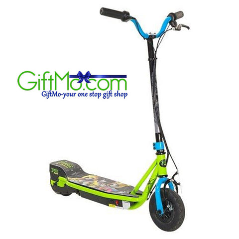 Super Fun Zombie Electric Scooter - Black/Lime (24v)