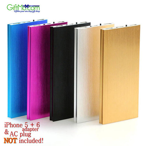 Ultrathin Portable 20000mAh  External Battery Charger Power Bank For Mobile Phones