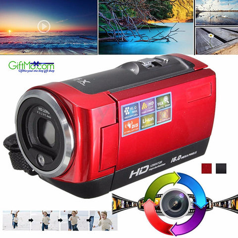 Video Crafter Handheld 16MP Video Camera with 16X Zoom