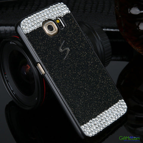 Sharp Looking Luxury Bling Simple Design Smart Phone Case for Samsung - GiftMo