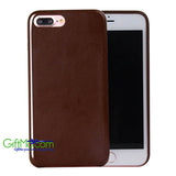 Well Designed iPhone 7/7 Plus Luxury Ultra-thin PU Leather Back Battery Slim Case
