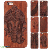 Amazingly Designed Natural Bamboo Wooden Phone Case For Apple iPhone - GiftMo