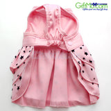 Cutest Pet Dog Cat Princess Dress Skirt Party Pink - GiftMo