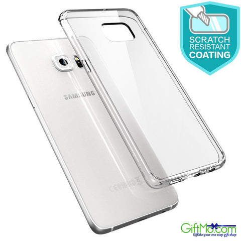 Super Slim Silicone Clear Crystal Soft TPU Case Cover For Samsung Galaxy S7/S6/Edge/+ - GiftMo