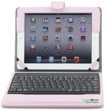 Stand Leather Case Cover With Bluetooth Keyboard For Apple iPad mini/2 3 4/Air