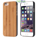 Natural Wood Bamboo Shockproof Wooden Phone Case for iPhone Samsung