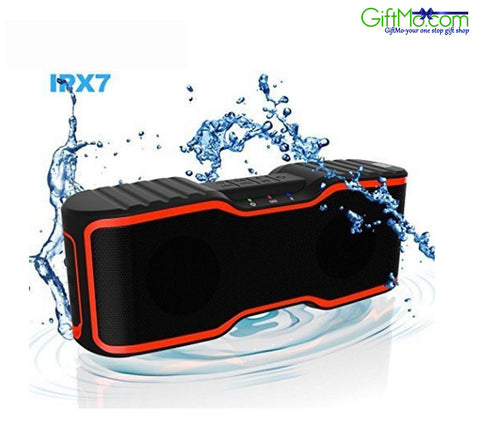 IPX7 Waterproof Wireless Portable 10W Enhanced Bass Speaker With Built-In Mic - GiftMo