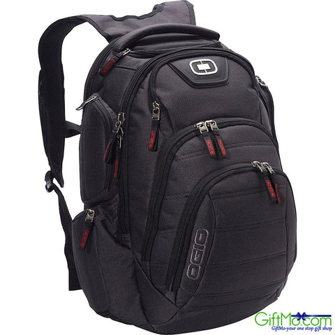 Amazing Renegade RSS Imported Padded Laptop Backpack-Black Pindot - GiftMo
