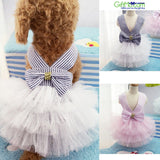 Cute Summer Pet Puppy Small Dog Cat Clothes Tutu Dress Princess Skirt - GiftMo