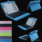 Stand Leather Case Cover With Bluetooth Keyboard For Apple iPad mini/2 3 4/Air - GiftMo