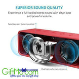 Low Harmonic Distortion Superior Sound Portable Bluetooth Speaker - GiftMo