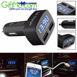Powerful Dual USB Universal Car Charger - GiftMo