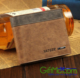 Stylish Men's Leather Card Holder Wallet Purse - GiftMo