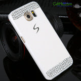 Sharp Looking Luxury Bling Simple Design Smart Phone Case for Samsung