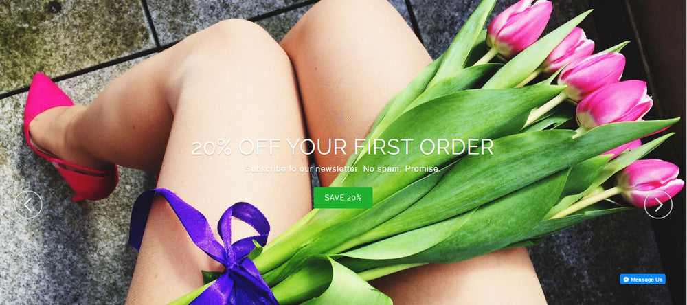 Get 20% off your first order.