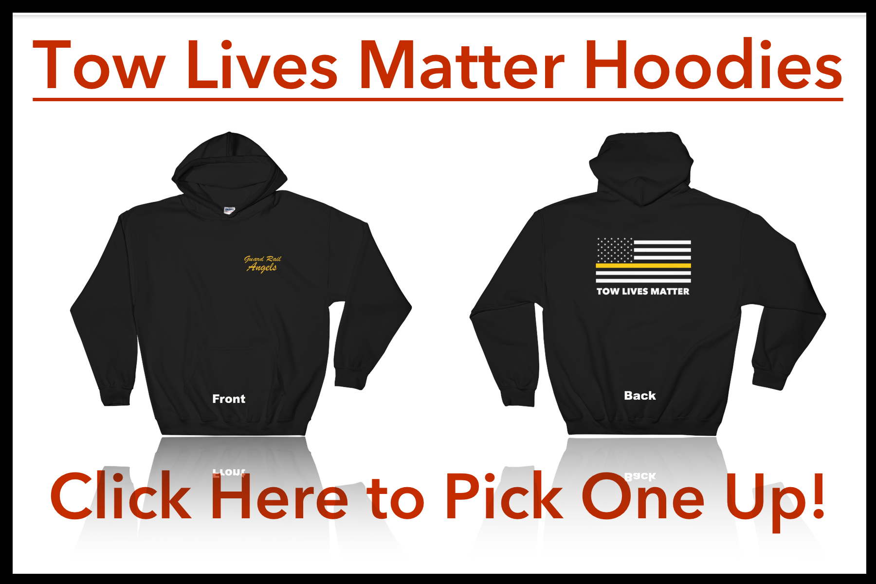 Tow Lives Matter Hoodie Click Here!