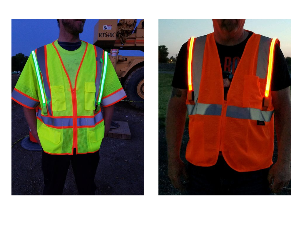 Optic-Fiber Safety Vest (No ID Panel)