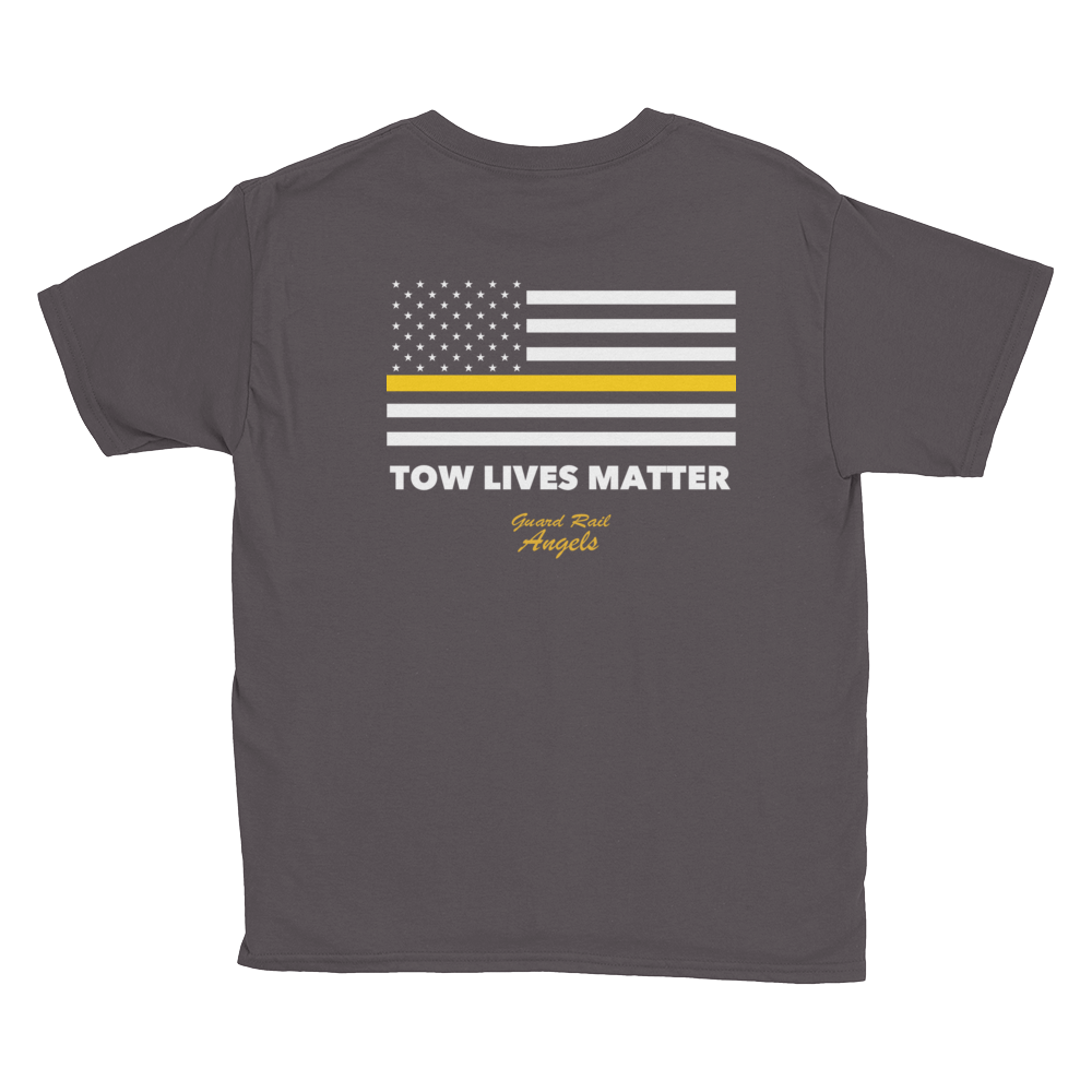 Youth Sized Tow Lives Matter Flag T-Shirt