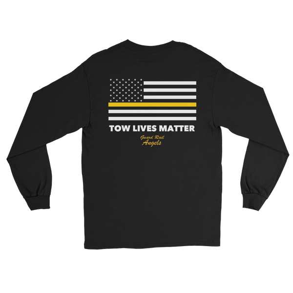 Tow Lives Matter Flag Long Sleeve T-Shirt