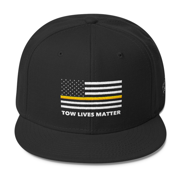Tow Lives Matter Flag Hat (Snap-Back)