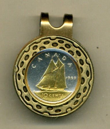 "Canadian 10 cent ""Bluenose sail boat"""
