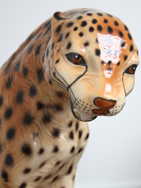 ceramic cheetah