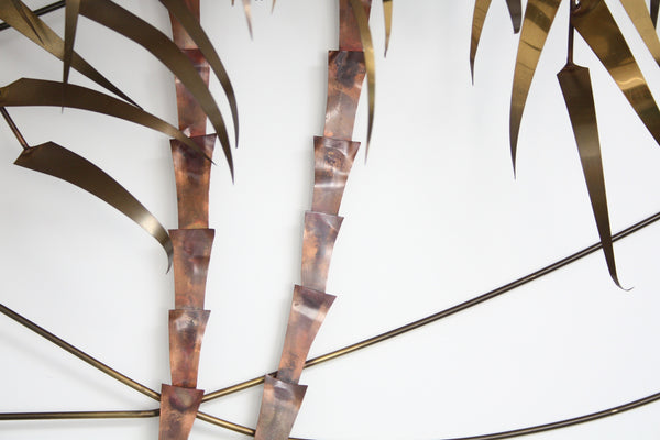 palm tree wand sculpture Daniel D'Haeseleer