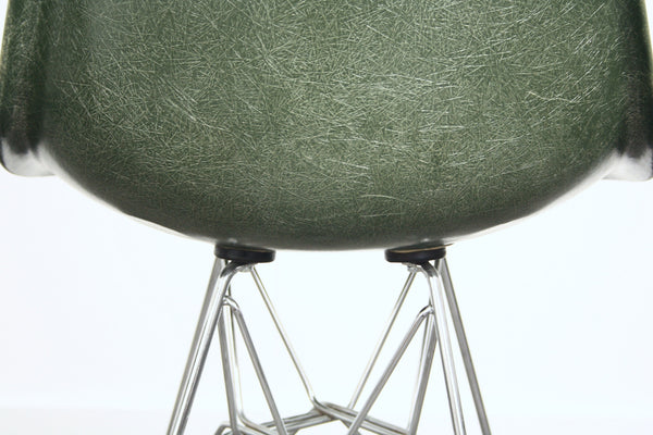 Forrest green Eames DSR chair