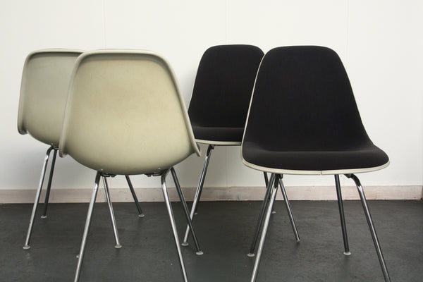 set of 4 Eames DSX chairs