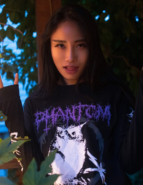 """Phantom"" BLK Long Sleeve"