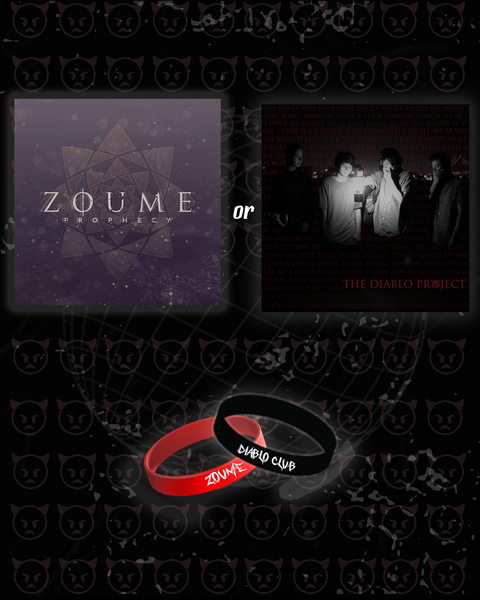 TDP or Prophecy Ep + Zoume/Diablo Club Wristbands