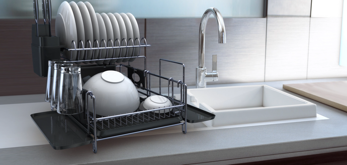 Check out our new 3D animation video for our award-winning dish rack