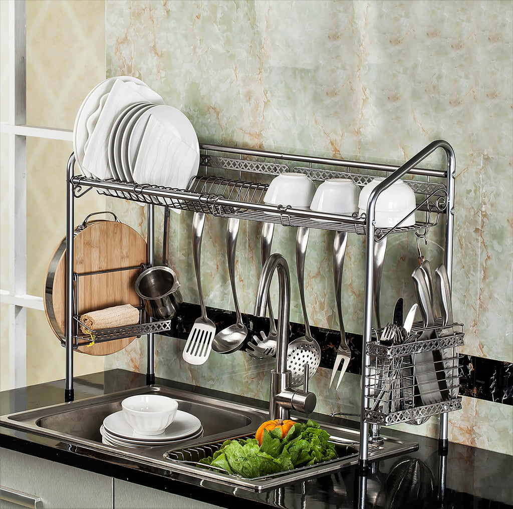 Premiumracks Professional Over The Sink Dish Rack Now