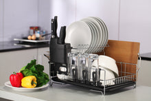PremiumRacks Professional Dish Rack - 304 Stainless Steel- Fully Customizable - Modern Design