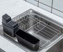 PremiumRacks In Sink Dish Rack - 304 Stainless Steel - Adjustable - Multipurpose