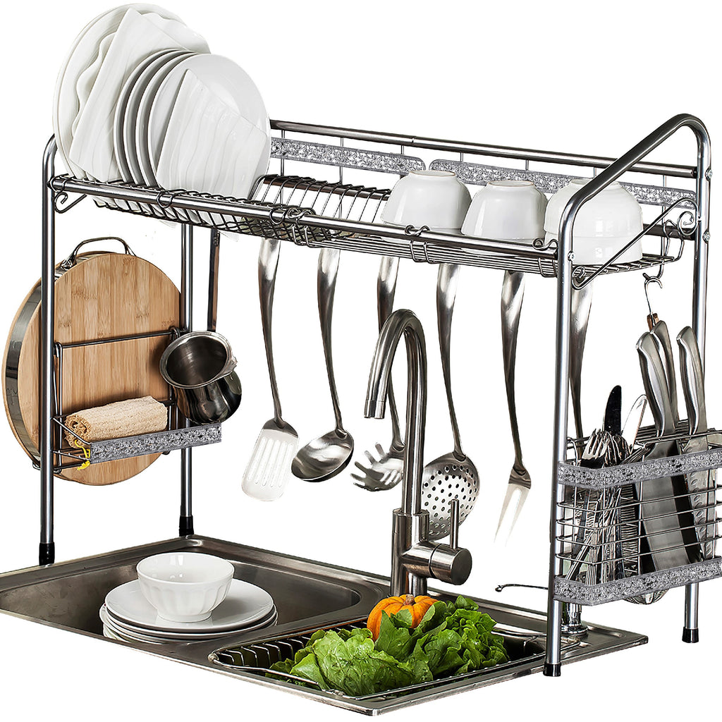 Premiumracks Professional Over The Sink Dish Rack Fully