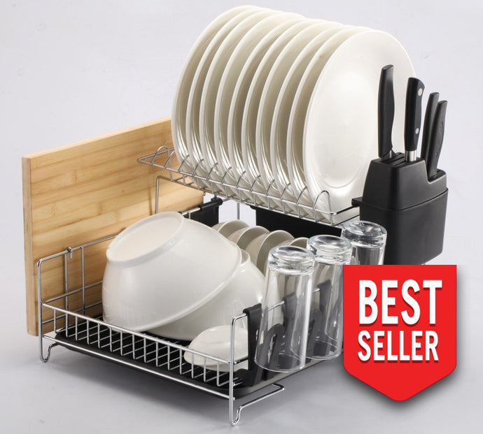 Premiumracks Professional Dish Rack - 316 Stainless Steel Fully Customizable Modern Design Dish