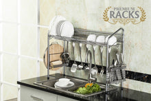 Premiumracks Professional Over The Sink Dish Rack - Fully Customizable Multipurpose Large Capacity