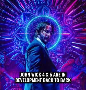 John Wick 4 & 5 are in development back to back