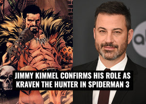 Jimmy Kimmel confirms his role as Kraven the Hunter in Spider-man 3