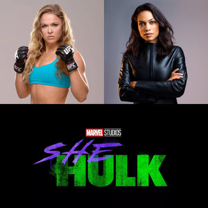 Ronda Rousey & Rosario Dawson rumored being eyed for the role of She-Hulk?
