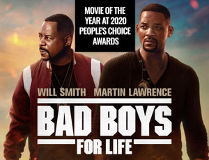 Bad Boys for life wins Movie of the Year at People's Choice award