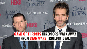 David Benioff & D.B. Weiss Game of Thrones directors walk away from their Star Wars triology deal.