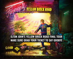 Make sure to grab your ticket for Elton John's last tour