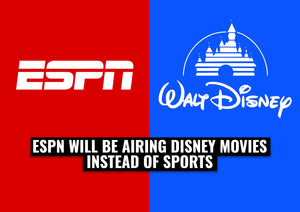 ESPN will be airing Disney Movies instead of sports