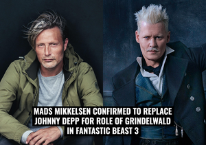 Mads Mikkelsen confirmed to replace Johnny Depp as Grindelwald.